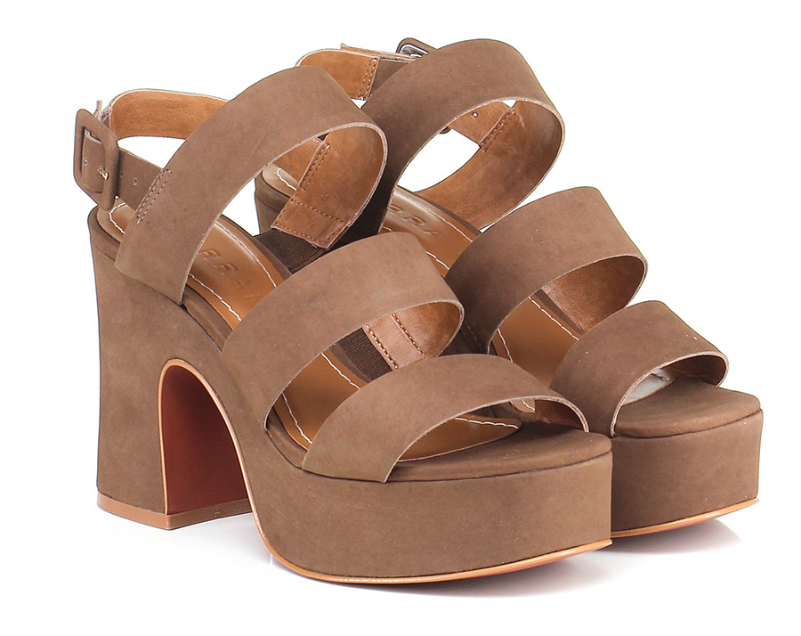 Sandalo alto  T.moro Carrano Mode billige Schuhe