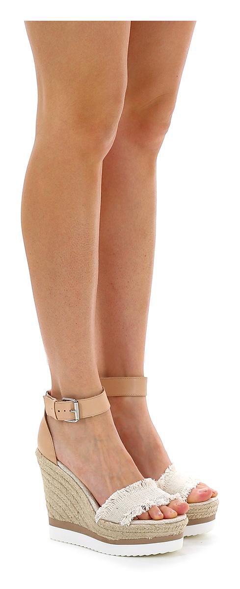 Zeppa Avorio/rosa Carrano Verschleißfeste billige Schuhe