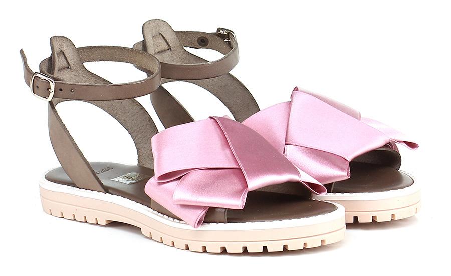 Sandalo basso Rosa/t.moro Tipe e Tacchi