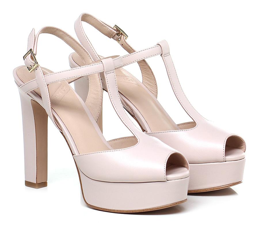 Sandalo alto Nude What for Hohe Qualität