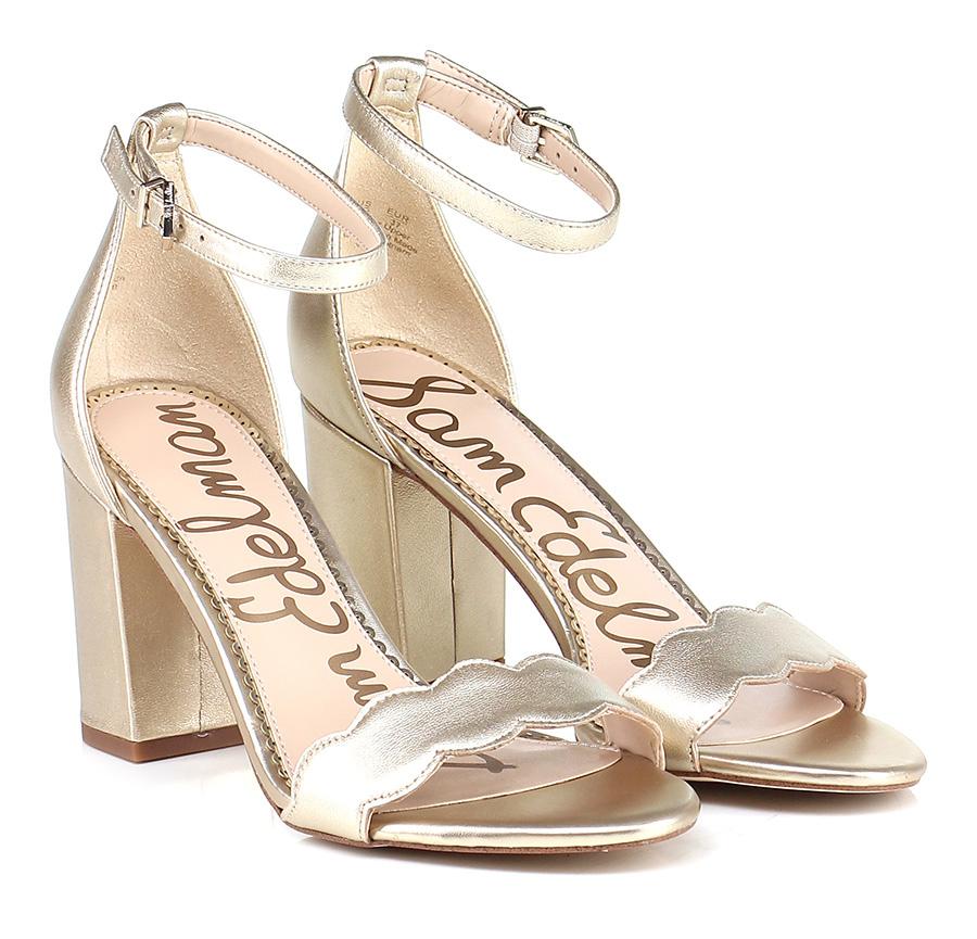 Sandalo alto Gold Sam Edelman Scarpe economiche e buone