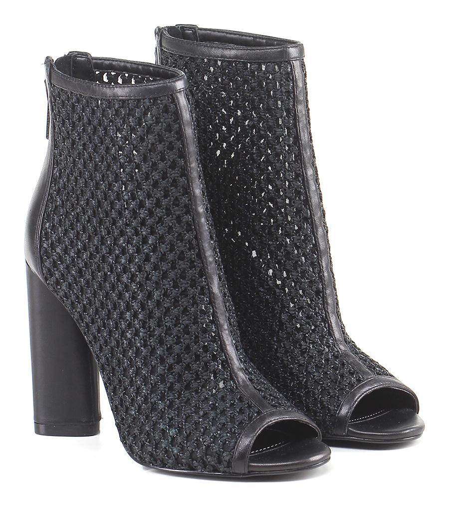 Tronchetto Black Kendall Kylie Verschleißfeste billige Schuhe