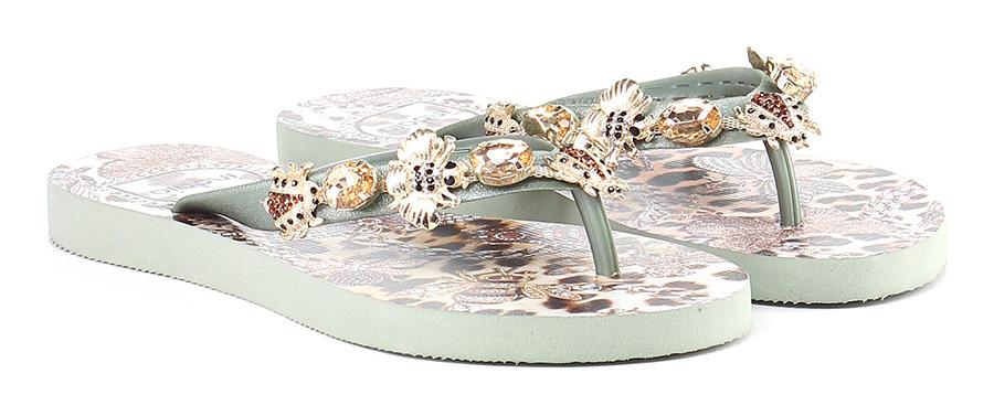 Sandalo basso Verde Indaia Verschleißfeste billige Schuhe