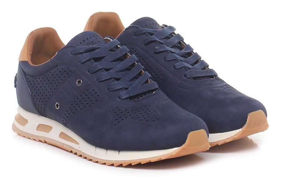 Sneaker Navy/leather Blauer