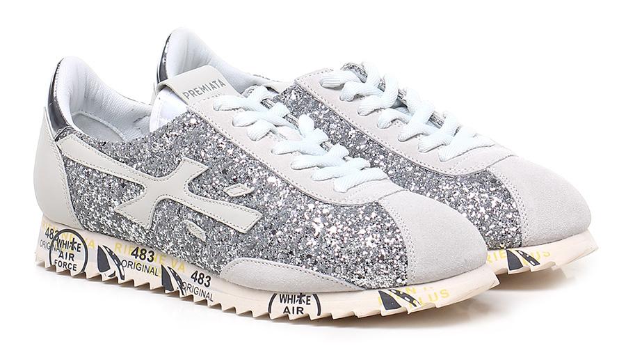Sneaker 3122 ivory/silver Premiata Verschleißfeste billige Schuhe