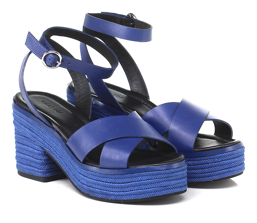 Zeppa Blue What for Verschleißfeste billige Schuhe