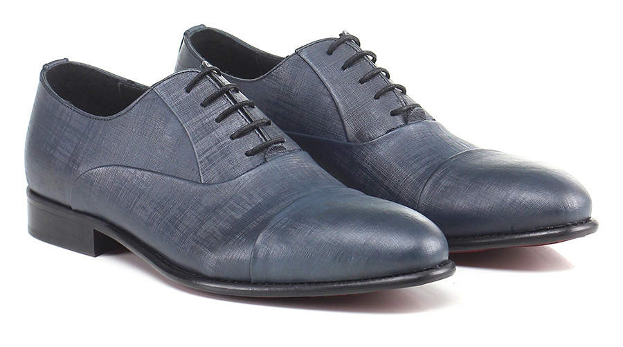 Stringata  Blu Eveet Mode billige Schuhe
