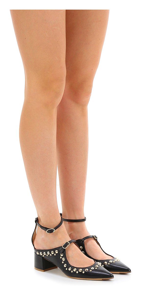 Scarpa con tacco Nero RAS Hohe Qualität