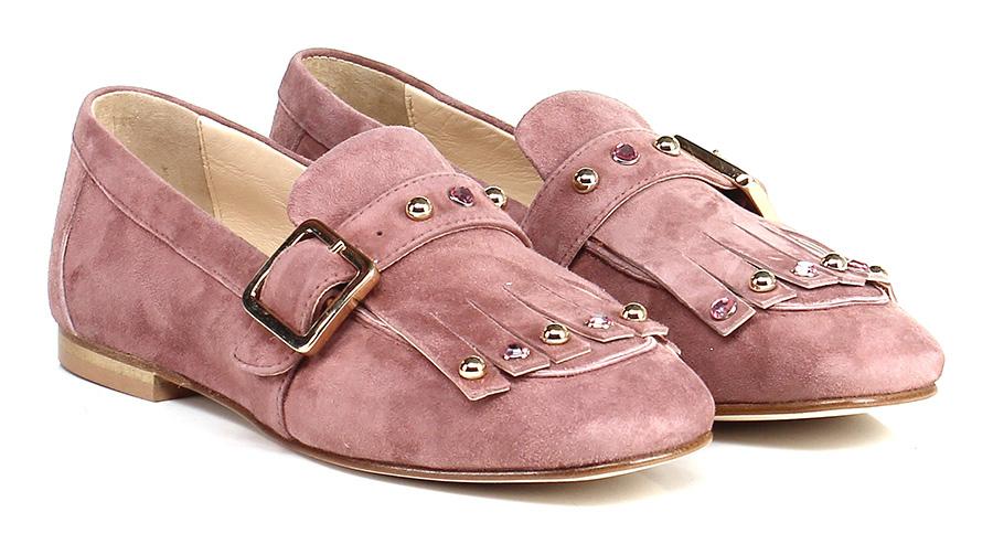 Scarpa bassa  Rosa antico Todai