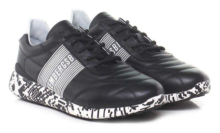 Sneaker  Schuhe Black/white Bikkembergs Mode billige Schuhe  5e5381