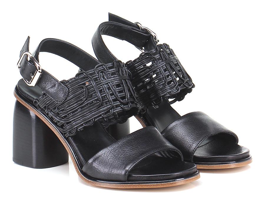 Sandalo alto  Nero Laura Bellariva