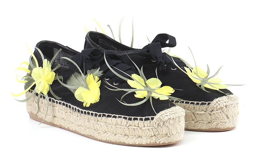 Scarpa bassa  Black/yellow Premiata Mode billige Schuhe