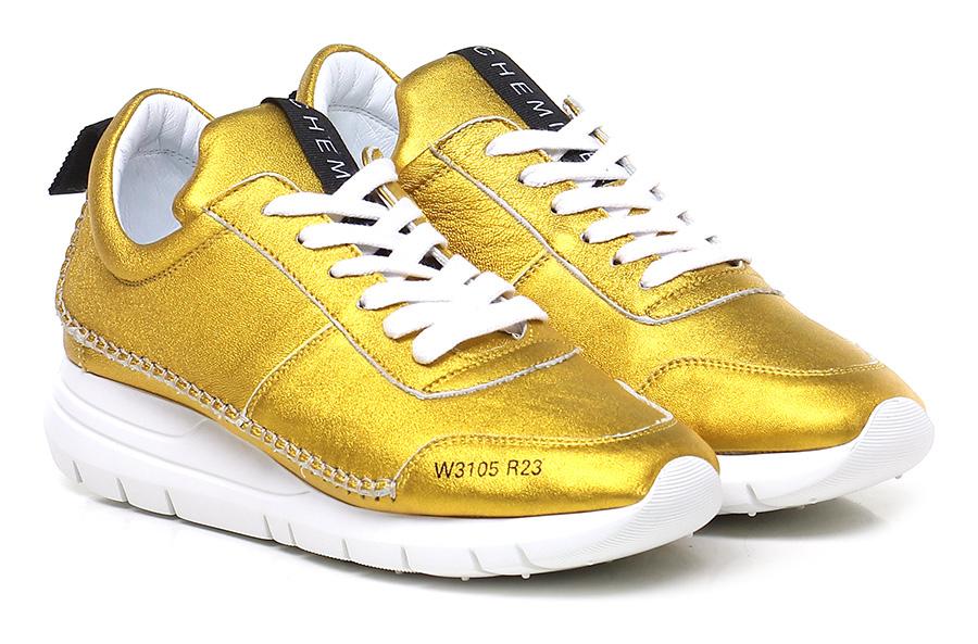 Sneaker Giallo Chemire Verschleißfeste billige Schuhe