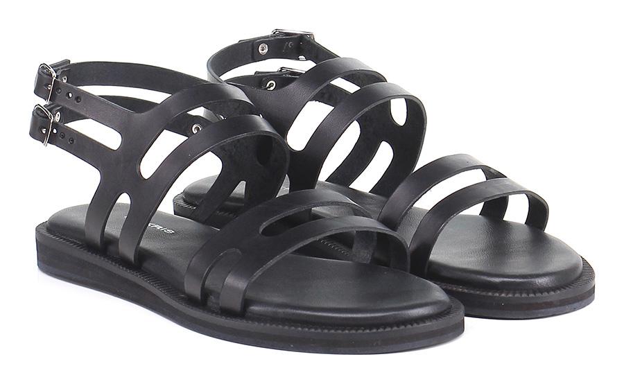 Sandalo basso Black Makris Verschleißfeste billige Schuhe