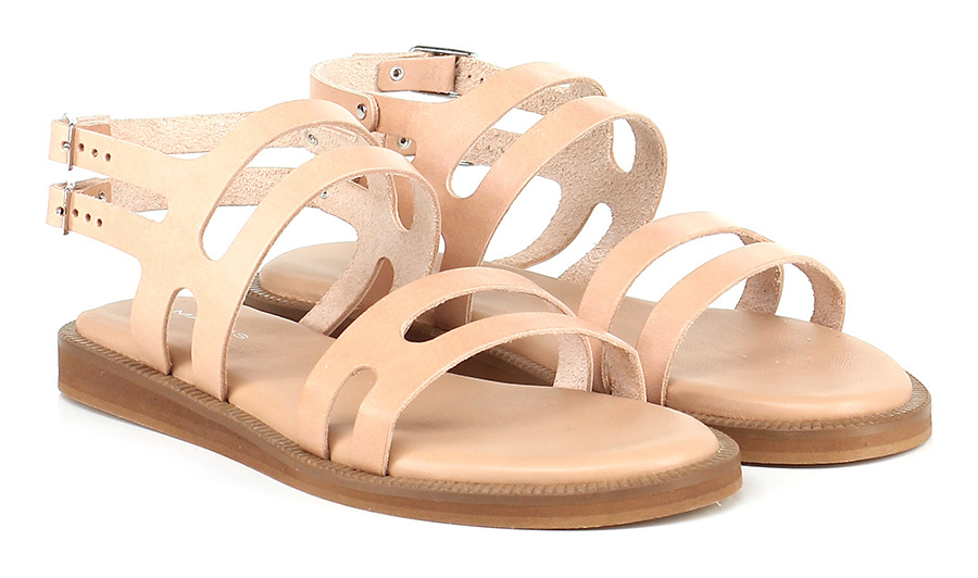 Sandalo basso Nude Makris Verschleißfeste billige Schuhe