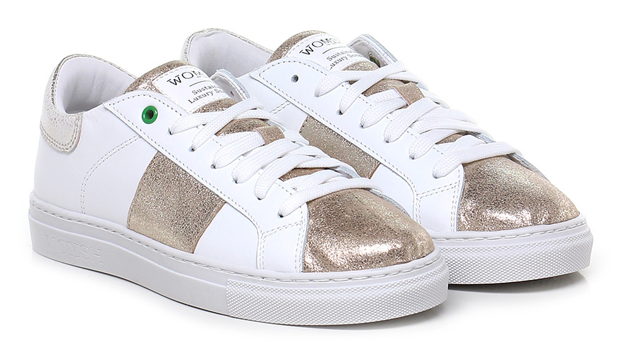 Sneaker Mode White/gold Womsh Mode Sneaker billige Schuhe 00e8f7