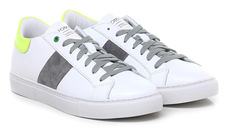 Sneaker White/yellow/grey Womsh Mode billige Schuhe