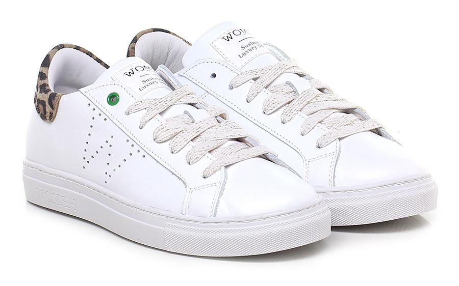 Sneaker White/leopard Womsh