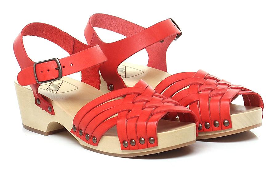 Sandalo basso Rosso Antidoti Verschleißfeste billige Schuhe