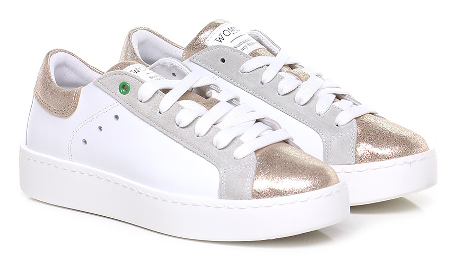 Sneaker White/gold Womsh