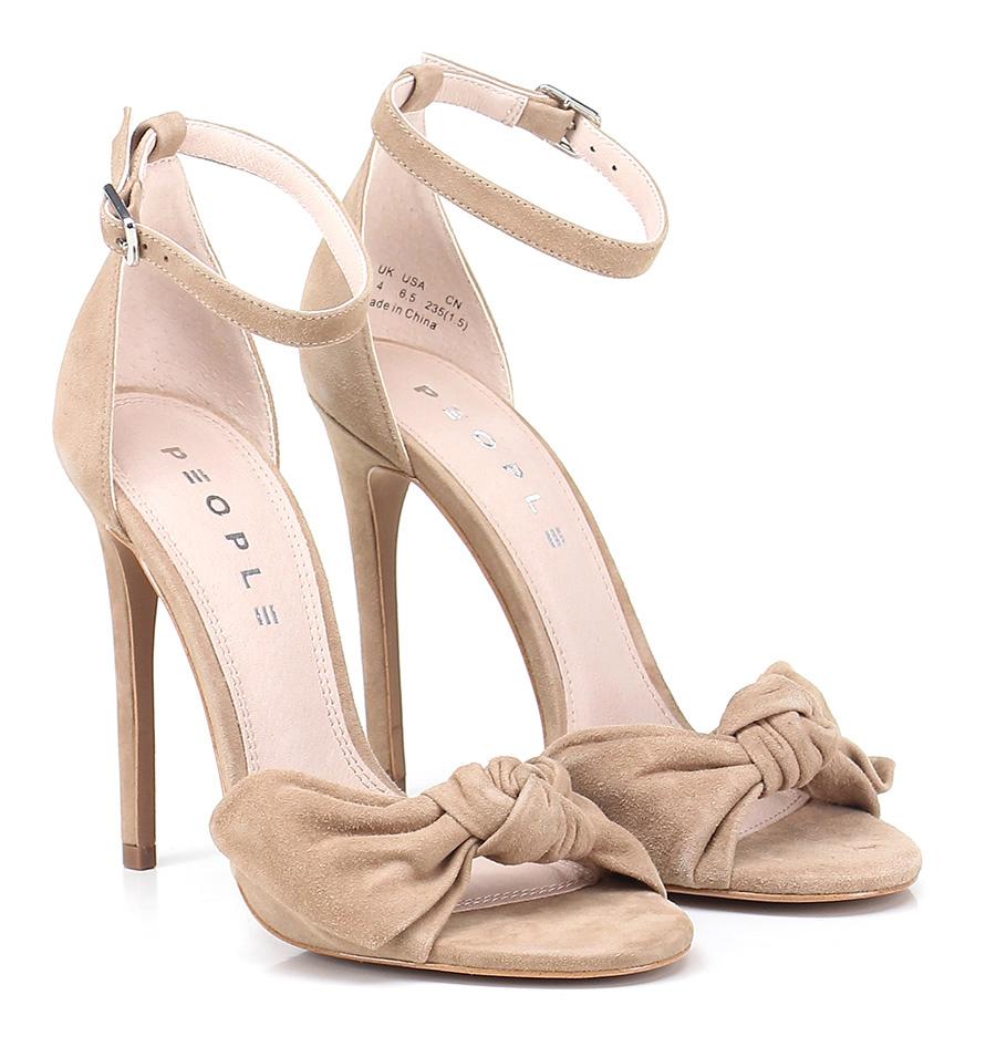 Sandalo alto Tan People Verschleißfeste billige Schuhe