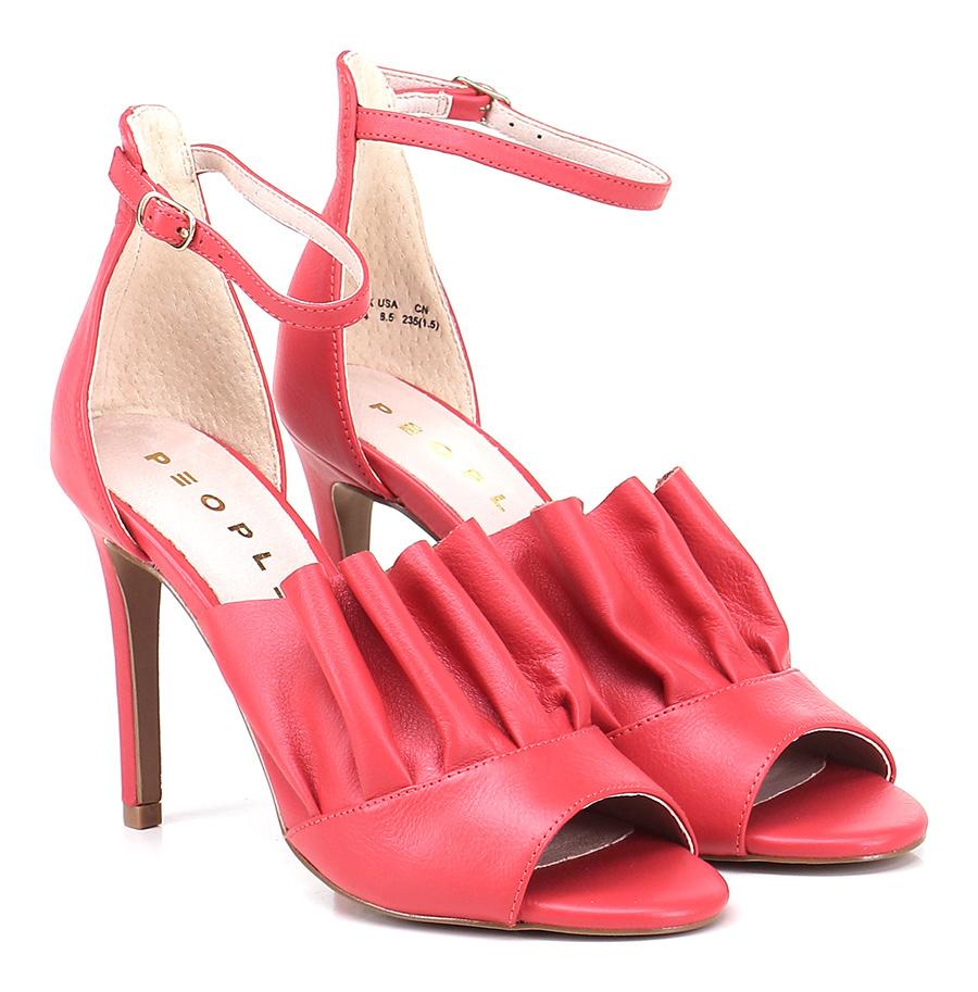 Sandalo alto Red People Mode billige Schuhe