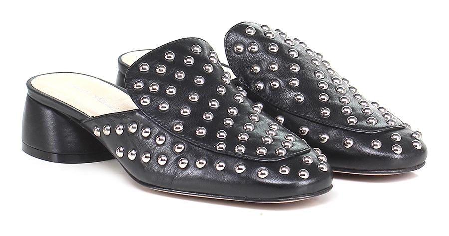 Sandalo Mode basso Nero Poesie Veneziane Mode Sandalo billige Schuhe 6a2981
