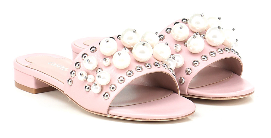 Sandalo basso Rosa Gisele Paris