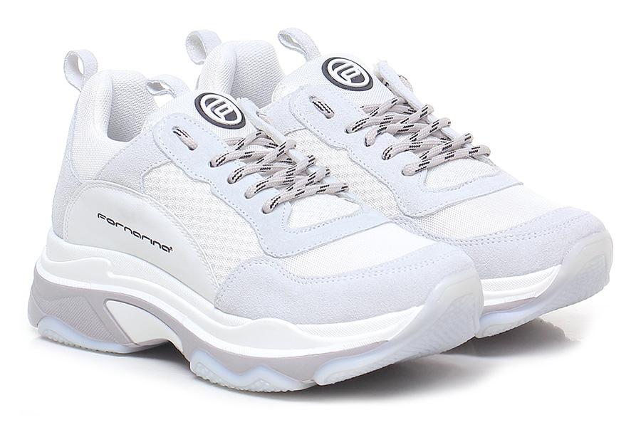 Sneaker Bianco/ghiaccio Fornarina