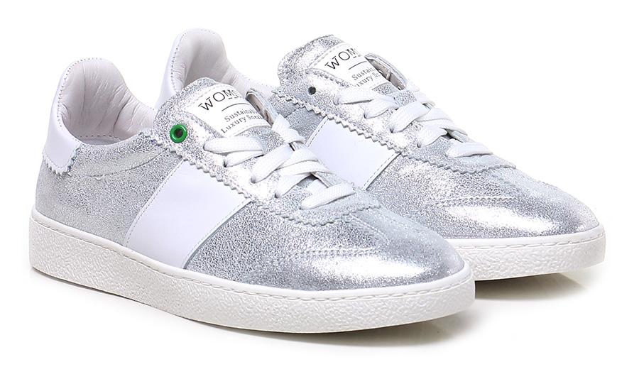 Sneaker Silver/white Womsh Schuhe Mode billige Schuhe Womsh b4da71