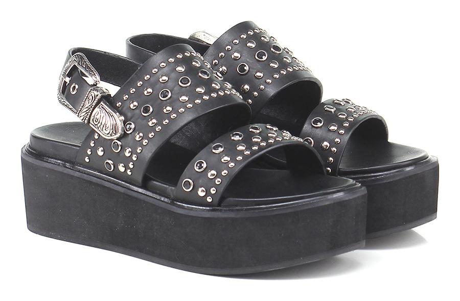 Zeppa Black Rebecca White Verschleißfeste billige Schuhe