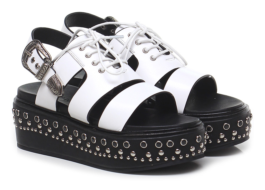 Zeppa White/black Rebecca Rebecca White/black White Verschleißfeste billige Schuhe ba4c78