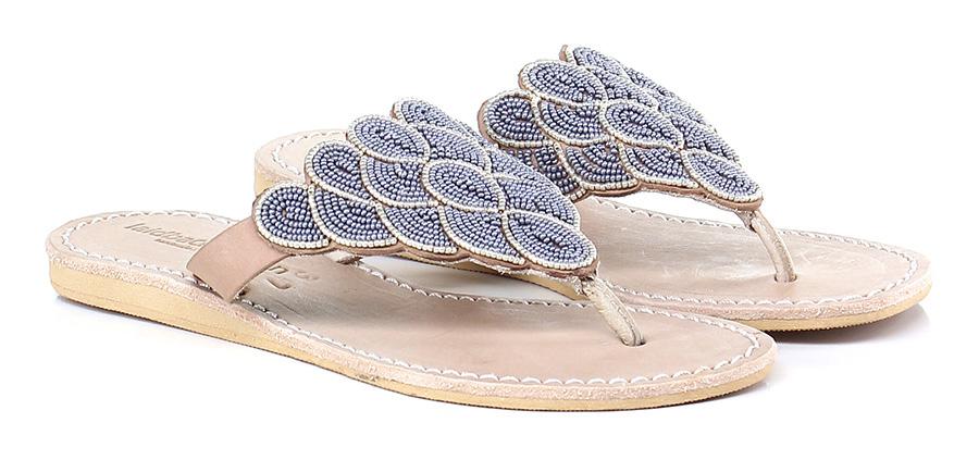 Sandalo basso Silver/grey Laidback London Mode billige Schuhe
