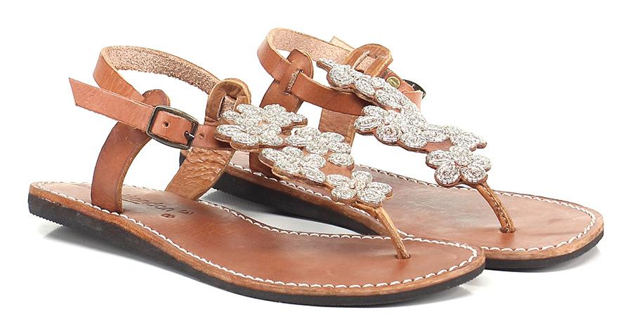 Sandalo basso Silver Laidback London Hohe Qualität