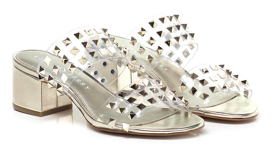 Sandalo alto Gold Katy Perry
