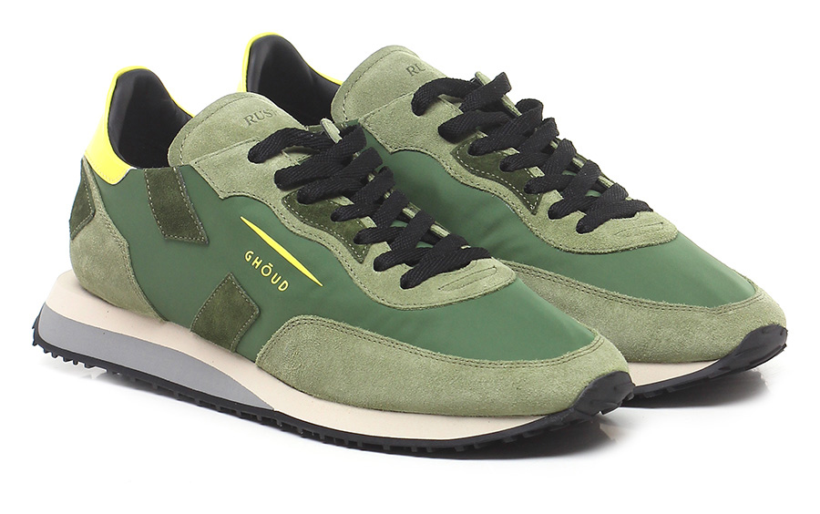 Sneaker Military/yellow Ghoud Rush Verschleißfeste billige Schuhe