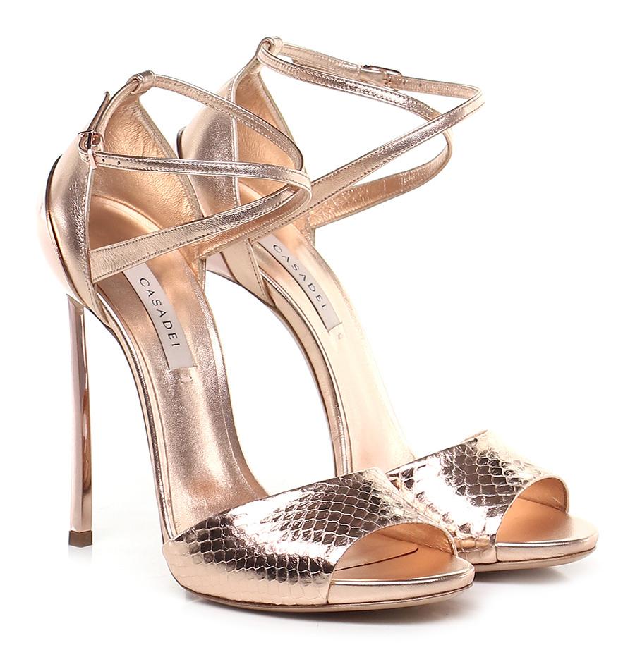 Sandalo alto Rame Casadei Verschleißfeste billige Schuhe