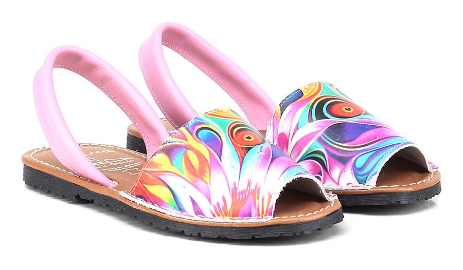 Sandalo basso MultiColoreee Avarca by C. Ortuno | Stravagante  | Di Alta Qualità E Basso Overhead  | In Linea Outlet Store  | Scolaro/Signora Scarpa