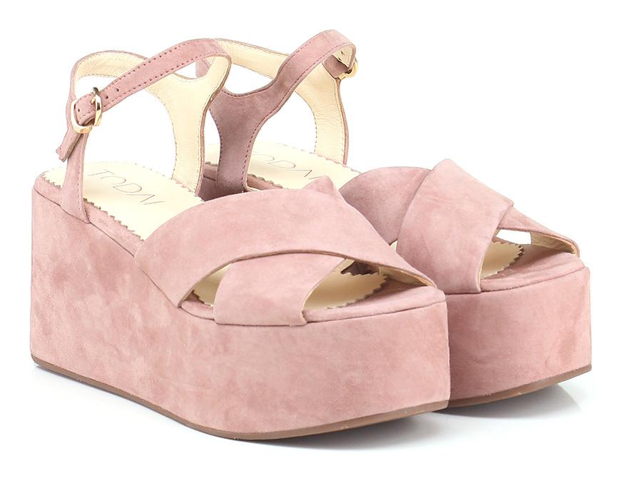 Zeppa Rosa antico Todai Verschleißfeste billige Schuhe