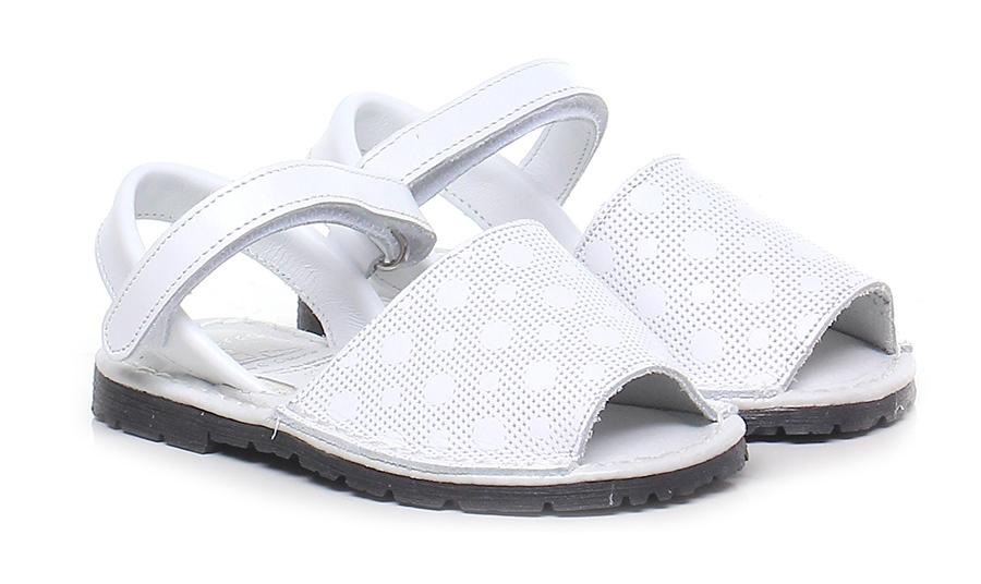Sandalo Avarca basso - bambina Bianco Avarca Sandalo by C. Ortuno 3271ef