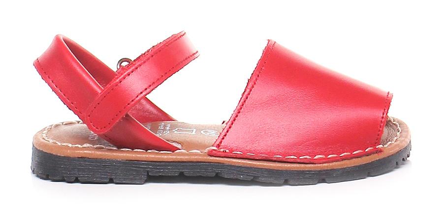 Sandalo Avarca basso - bambina Rosso Avarca Sandalo by C. Ortuno f6a850