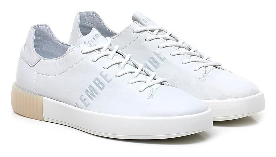 Sneaker White Bikkembergs Verschleißfeste billige Schuhe