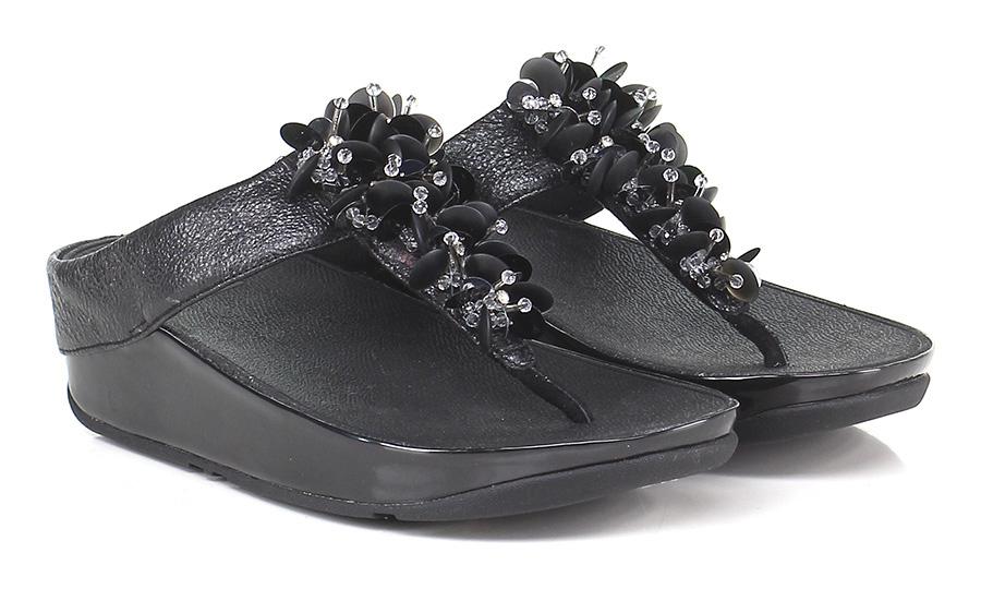 Sandalo basso Black Fitflop™ Verschleißfeste billige Schuhe