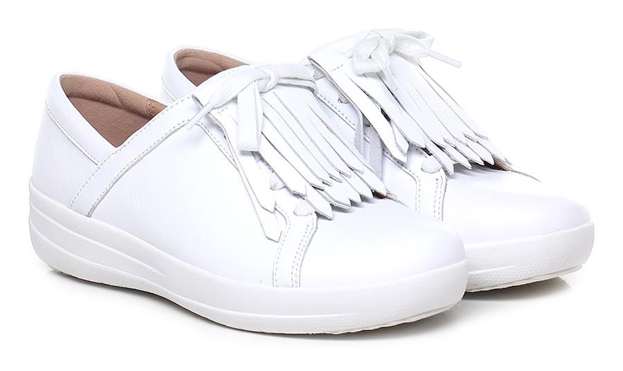 Sneaker White Fitflop™ Verschleißfeste billige Schuhe