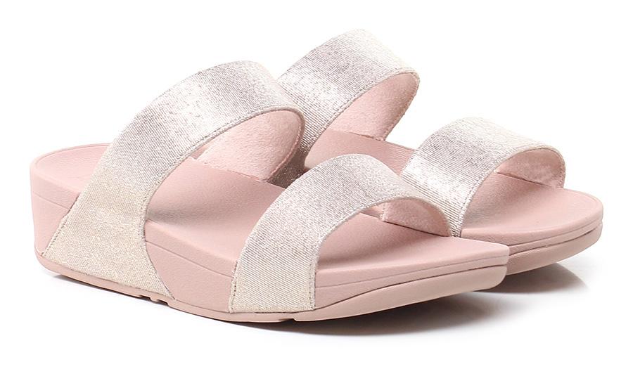 Sandalo basso Pink/platinum Fitflop™ Verschleißfeste billige Schuhe