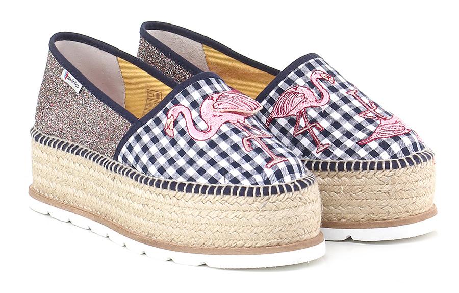 Scarpa bassa  Notte/multicolor Espadrilles Mode billige Schuhe