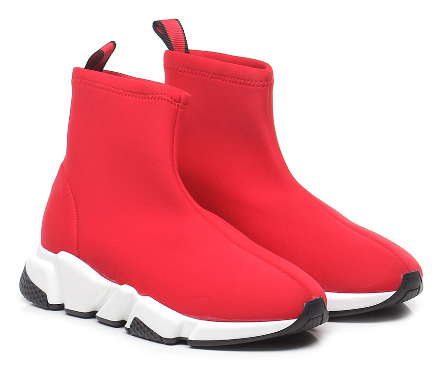 Sneaker Rosso Gisele Paris Verschleißfeste billige Schuhe