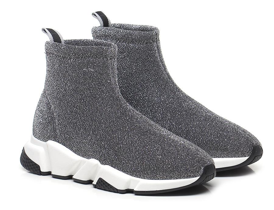 Sneaker Argento Gisele Paris Verschleißfeste billige Schuhe