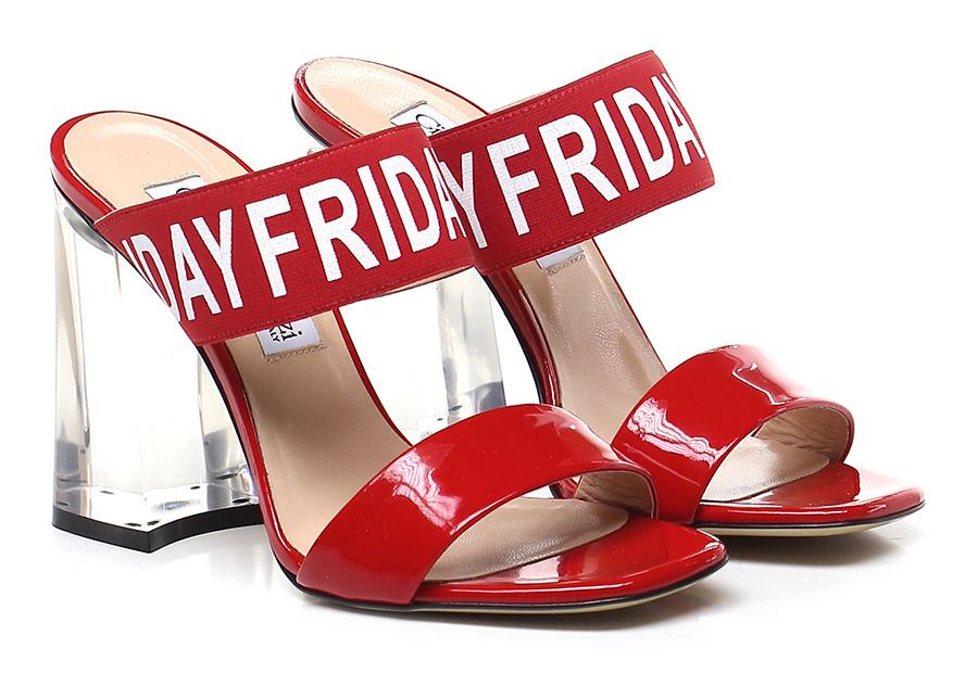 Sandalo alto Rosso Giampaolo Viozzi Hohe Qualität