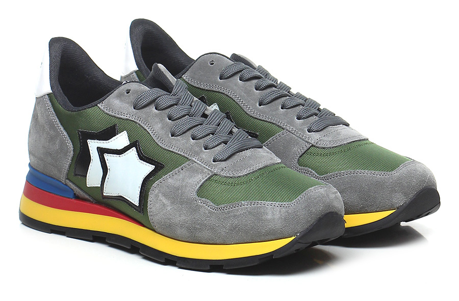 Sneaker Mode Grey/military Atlantic Stars Mode Sneaker billige Schuhe 2baa26